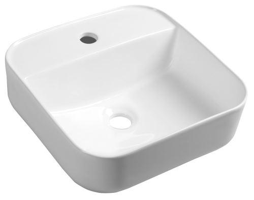 Sapho MOLVENO keramické umyvadlo 39,5x14x39,5 cm, na desku