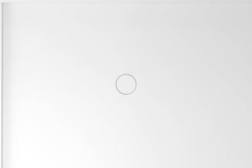 Polysan MIRAI sprchová vanička z litého mramoru, obdélník 120x80x1,8cm, levá, bílá