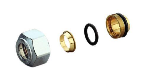 GIACOMINI R178 Adaptér pro Cu trubky 16x15 (R178X016)