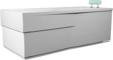 TEIKO Panel k vaně COLUMBA 160 x 75 L, bílá (V122160L62T02001)