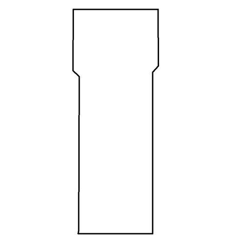 Komínová vsuvka 160/250/1,5 (160V250100)
