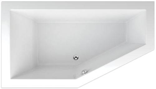 TEIKO Vana LAGOS 160 x 90 Levá, bílá (V117160L04T05001)