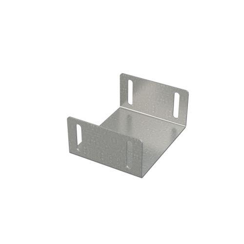 ALCAPLAST Propojka drenážního žlabu 100 mm, pozinkovaná ocel (ADZ-P008)