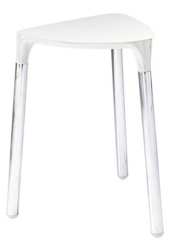 Gedy YANNIS koupelnová stolička 37x43,5x32,3 cm, bílá
