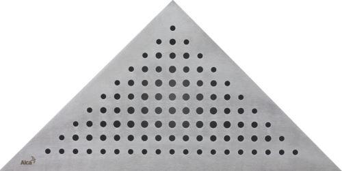 ALCAPLAST Rošt pro rohový sprchový žlab - nerez mat (TRITON)