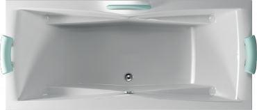 TEIKO Vana CORONA 190 x 80, bílá (V112190N04T05001)