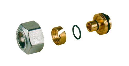 GIACOMINI R179AM Adaptér pro trubky PEX - AL - PEX a UH 18x(16x2) (R179MX024)