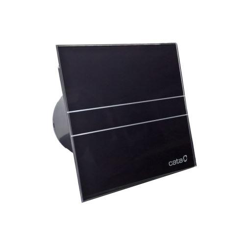 Cata E-100 GBT koupelnový ventilátor axiální s časovačem, 8W, potrubí 100mm, černá