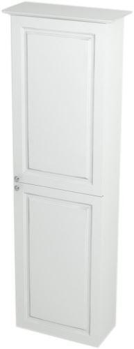 Sapho VIOLETA skříňka vysoká 40x140x20cm, pravá, bílá pololesk