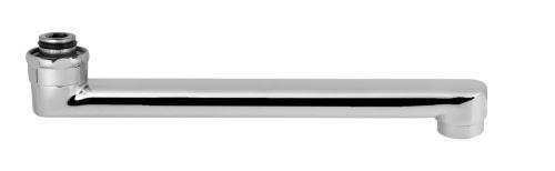 Aqualine Výtoková hubice, 3/4'x230mm, chrom