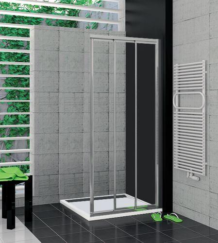 SANSWISS TOP LINE TOE3D12005007 Pravý díl sprchového koutu 120 cm (aluchrom/sklo)