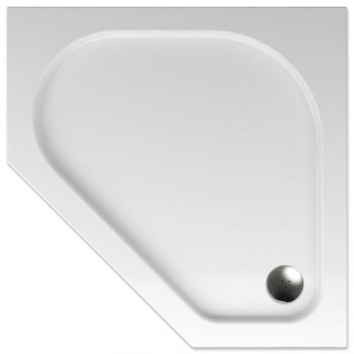 TEIKO Sprchová vanička pětihranná ZEUS 90 (V136090N32T02001)