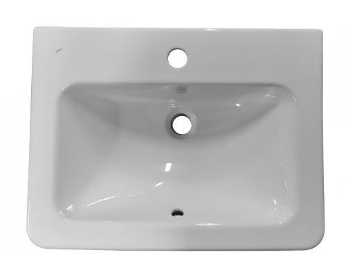 JIKA CUBITO Zápustné umyvadlo 55 cm (H8174220001041)