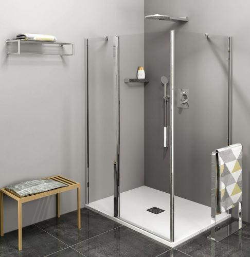 Polysan Zoom Line obdélníkový sprchový kout 1100x800mm L/P varianta