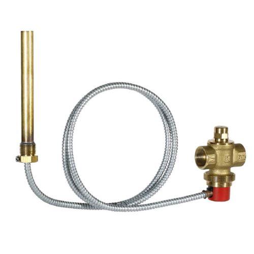 HONEYWELL Odpouštěcí ventil se zkušební funkcí a zdvojeným teplotním čidlem (TS131-3/4A)