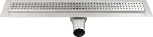 Gelco MANUS QUADRO nerezový sprchový kanálek s roštem, 650x130x55 mm