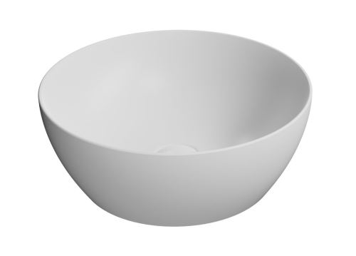 GSI PURA umyvadlo na desku průměr 42 cm, bílá mat