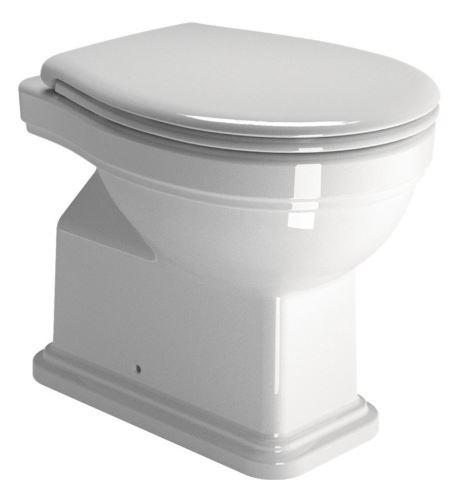 GSI CLASSIC WC mísa 37x54 cm, zadní odpad, ExtraGlaze
