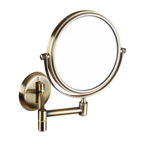 Sapho Kosmetické zrcátko zvětšovací, oboustranné, bronz
