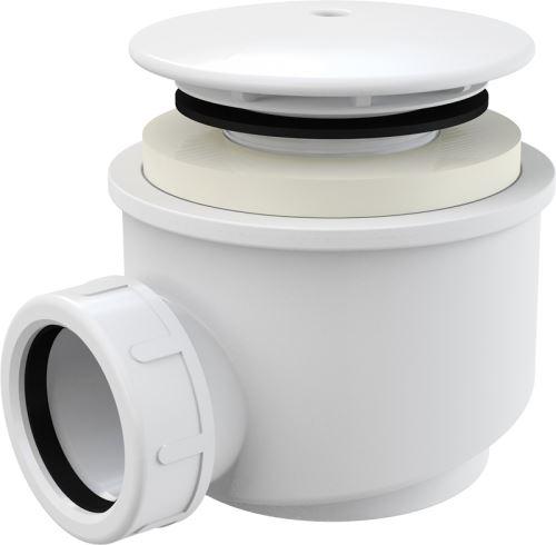 ALCAPLAST Sifon vaničkový bílý (A47B DN60)