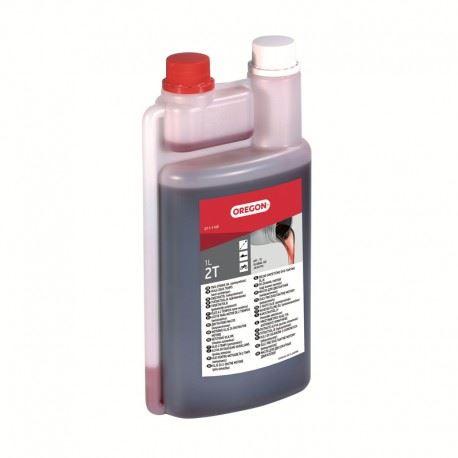 OREGON Olej pro 2T motory 1000 ml s odměrkou - červený (O11-1140)
