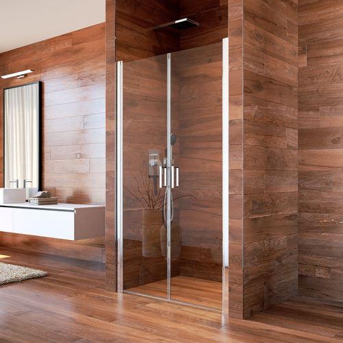 MEREO Sprchové dveře LIMA 90, sklo Point (CK80522K)