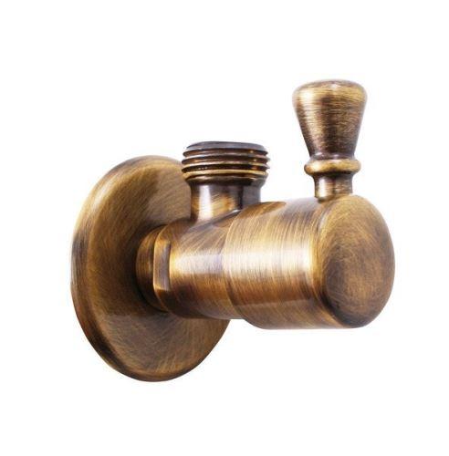 Sapho Rohový ventil, 1/2'x 1/2', bronz