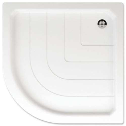 TEIKO Sprchová vanička čtvrtkruhová SANO 80 (V131080N32T02001)
