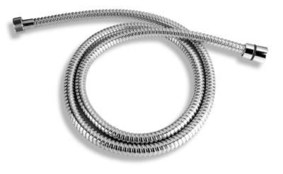 NOVASERVIS Sprchová hadice kovová dvouzámková chrom 150cm (H/7000,0)