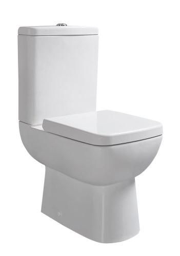 Sapho TYANA SHORT WC kombi vč. Soft Close sedátka a splach. mech., zadní odpad