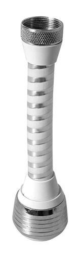 Aqualine Perlátor dlouhý s přepínačem, vnitřní závit F22x1, chrom a plast
