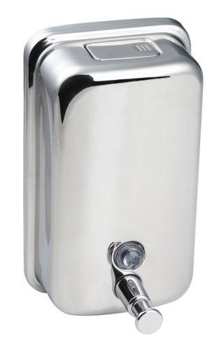 Sapho Dávkovač tekutého mýdla 400 ml, leštěný nerez