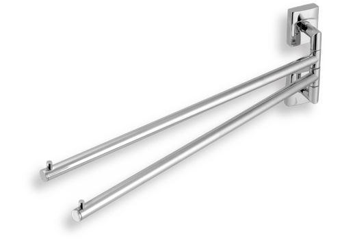 NOVASERVIS Dvouramenný držák ručníků Metalia 12 chrom (0229,0)