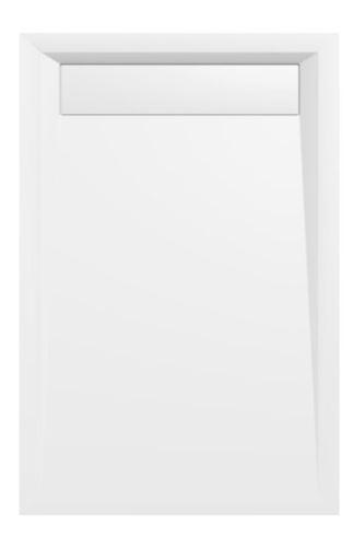 Polysan VARESA sprchová vanička z litého mramoru se záklopem, obdélník 120x80x4cm, bílá