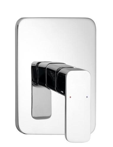 Aqualine FACTOR podomítková sprchová baterie, 1 výstup, chrom
