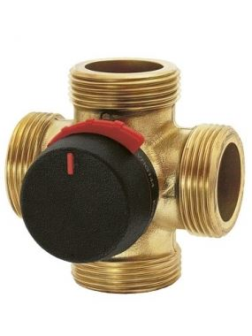 """ESBE ventil čtyřcestný směšovací VRG 142 1 1/4"""", Kvs 10.0 (11641100)"""