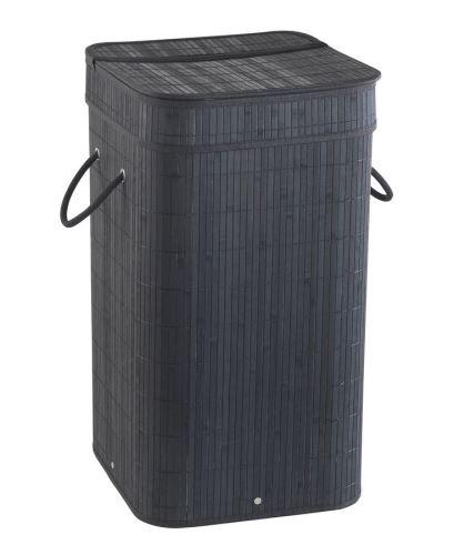 Gedy TATAMI koš na prádlo 35,5x63x35,5cm, černá