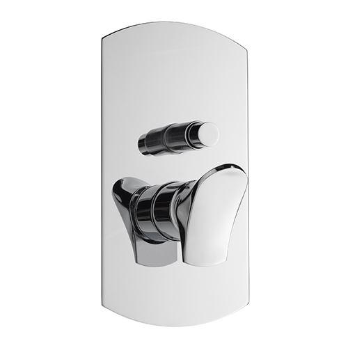 Effepi BÉK podomítková sprchová baterie, 2 výstupy, chrom
