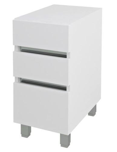 Sapho AVICE 3x zásuvka 30x70,5x48cm, bílá