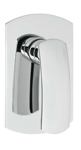 Effepi FLO podomítková sprchová baterie, 1 výstup, chrom