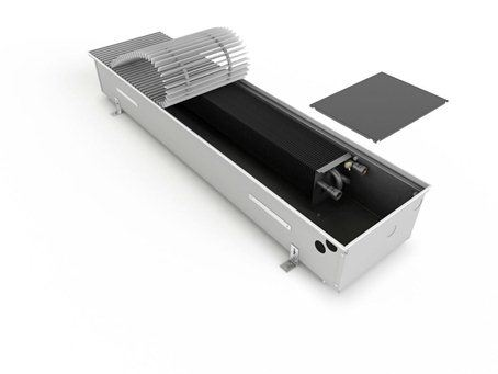 ISAN Konvektor NEW Termo Practic bez ventilátoru FRK 0125 0300, délka 3800 mm (FRK012503003800C11J1L-0)
