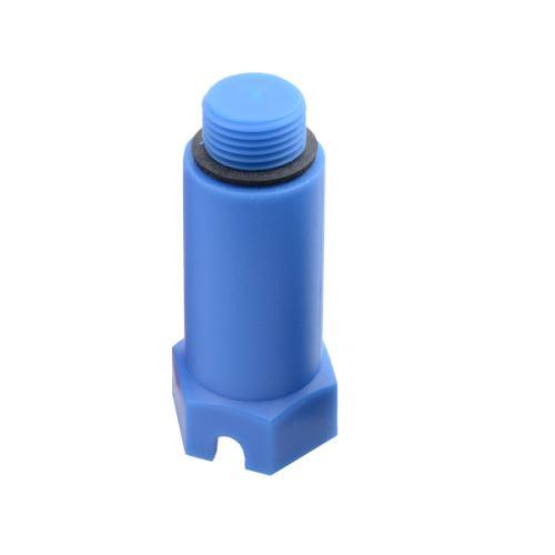 PPR Zátka tlaková dlouhá, modrá