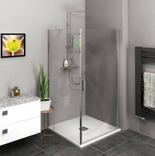 Polysan Zoom Line obdélníkový sprchový kout 900x700mm L/P varianta