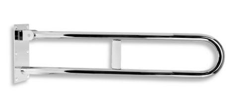 NOVASERVIS Úchyt dvojitý sklopný 572 mm leštěná nerez (R66550,44)
