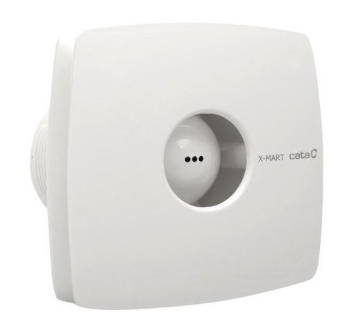 Cata X-MART 10T koupelnový ventilátor axiální s časovačem, 15W, potrubí 100mm, bílá