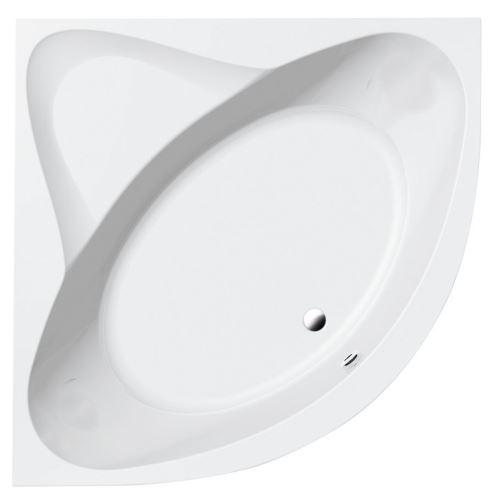 Aqualine DYJE rohová vana 150x150x42cm, bílá