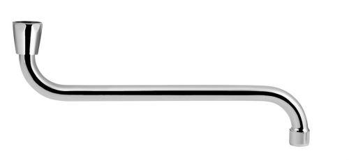 Aqualine Výtoková hubice tvar S, prům. 18mm, L 334mm, 3/4',chrom