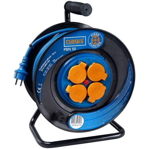 NAREX Gumový prodlužovací kabel na bubnu PBN 50, 50 m (65404962)