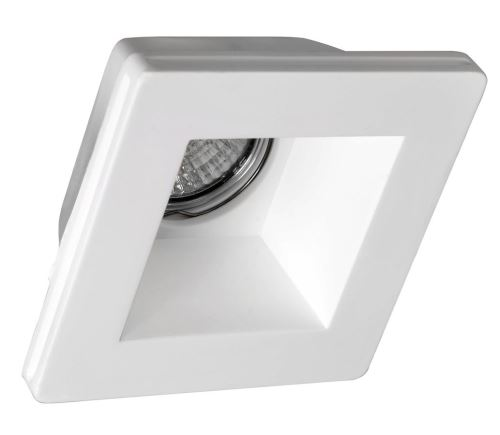 Sapho GIP podhledové sádrové svítidlo 120x120 mm, GU10, max 35W