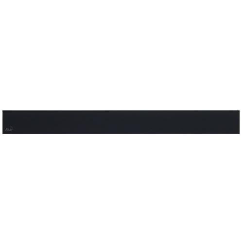 ALCAPLAST GLASS - Designový rošt pro APZ6 - sklo černé (GL1204-750)